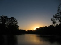 Sunset at Lake Parramatta