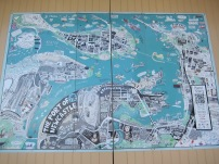 Cute map of Newcastle