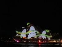 Lighting the Sails, at Vivid Sydney