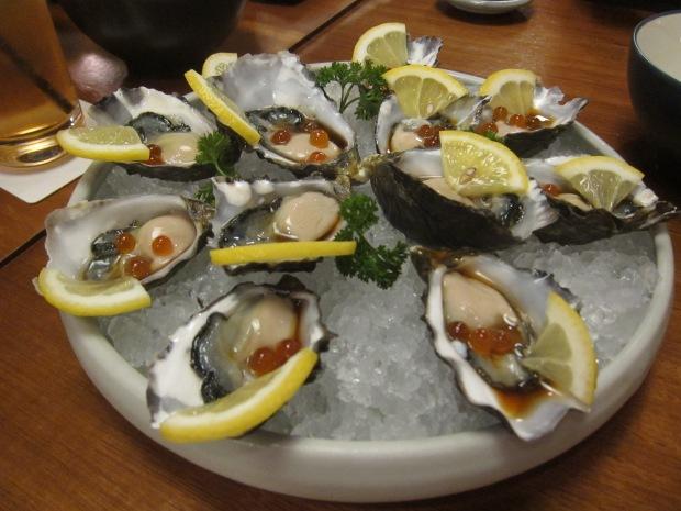 fresh tassie pacific oyster