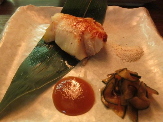 miso caramelised black cod